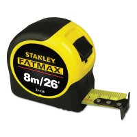 Stanley® FatMax® Reinforced with Blade Armor™ Tape Rules - FatMax Reinforced w/Blade Armor Tape Rules, 1 1/4 in x 26 ft - 680-33-726 - Stanley® Products