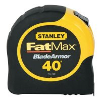 Stanley® FatMax® Reinforced with Blade Armor™ Tape Rules - FatMax Reinforced w/Blade Armor Tape Rules, 1 1/4 in x 40 ft, Belt Clip - 680-33-740L - Stanley® Products
