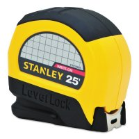 Stanley® LeverLock® Tape Rules - LeverLock® Tape Rules, 1 in x 25 ft - Stanley® Products - 680-STHT30825