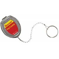 L.S. Starrett Key Caddy - Key Caddy, Silver, Stainless Steel Chain & Key Ring - L.S. Starrett - 681-63135