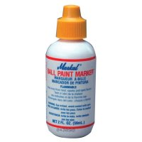 Markal® Ball Paint Marker® - Ball Paint Marker, Yellow, 1/8 in, Metal Ball Point - 434-84621 - Markal®