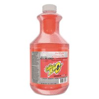Sqwincher® ZERO Liquid Concentrate - ZERO Liquid Concentrate, Fruit Punch, 64 oz, Yields 5 gal - 690-050102-FP - Sqwincher