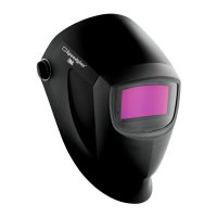 3M™ Personal Safety Division Speedglas™ 9002NC Welding Helmets - Speedglas 9002NC Welding Helmets, Black/Silver, 4.09 in x 2.13 in, 8-12 Shade - 711-04-0100-20NC - 3M