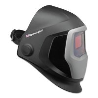 3M™ Personal Safety Division Speedglas™ 9100 Series Helmets - Speedglas 9100 Series Helmets, 5; 9100V, Black/Silver, 1.8 in x 3.7 in - 711-06-0100-10 - 3M