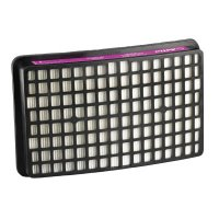 3M™ Personal Safety Division Adflo™ PAPR High Efficiency Particulate Filter - Adflo™ PAPR High Efficiency Particulate Filter, Magenta, 2/Case - 711-15-0299-99X02 - 3M
