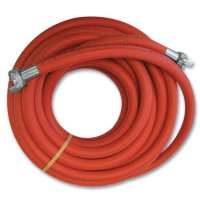 Continental ContiTech Jackhammer Air Hose Assemblies - Jackhammer Air Hose Assemblies, 0.38 lb @ 1 ft, 1 1/4 in O.D., 3/4 in I.D., Red - Continental ContiTech - 713-20665550