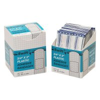 Honeywell North® Adhesive Bandages - Adhesive Bandages, 3/4 in x 3 in Strips, Plastic - 714-010045 - Honeywell