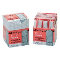 Honeywell North® Adhesive Bandages - Adhesive Bandages, 1 in x 3 in Strips, Fabric - 714-016459 - Honeywell