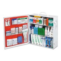 Honeywell North® First Aid Kit Assortments - Assorted First Aid Kit, 493-Piece, Steel Case, Stand Alone - 714-FAK3SHLF-CLSB - Honeywell