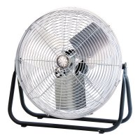 TPI Corp. Industrial Floor Fans - Industrial Floor Fans, 18 in, 1/8 hp, 3-Speed - 737-F-18-TE - TPI Corp.