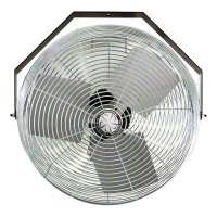 TPI Corp. Work Station Fans - Work Station Fans, Stationary Direct Drive Rotating, 18 in, 1/8 hp, 3-Speed - 737-U-18-TE - TPI Corp.