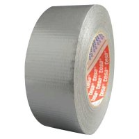 Tesa® Tapes Utility Grade Duct Tapes - Utility Grade Duct Tapes, Silver, 2 in x 60 yd x 7.5 mil - 744-64613-09001-00 - Tesa® Tapes