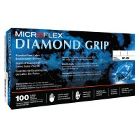 Microflex Diamond Grip™ Disposable Gloves - Diamond Grip Examination Gloves, Small, Natural - 748-MF-300-S - Ansell