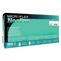 Microflex NeoPro® Disposable Gloves - NeoPro Neoprene Exam Gloves, Powder Free, Neoprene, X-Large - 748-NEC-288-XL - Ansell
