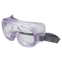 Honeywell Uvex™ Classic™ Goggles - Classic Goggles, Clear Frame, Clear Lens, Uvextreme Antifog, Hood Indirect Vent - 763-S350 - Honeywell