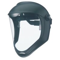 Honeywell Uvex™ Bionic™ Face Shields - Bionic Face Shields, Uncoated, Clear/Black Matte - 763-S8500 - Honeywell