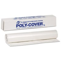 Warp Brothers Poly-Cover Plastic Sheets - Poly-Cover Plastic Sheets, 6 Mil, 20 x 100, Clear - 795-6X20-C - Warp Brothers