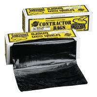 Warp Brothers Trash Can Liners - Trash Can Liners, 55 gal, 3 mil, 36 X 56, Black - Warp Brothers - 795-HB55-30