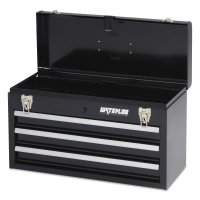 Waterloo Portable Chests - Portable Chests, 20.535 in x 8.56 in x 9.56 in, 1,275 cu in, Black - Waterloo - 797-MP-2012BK