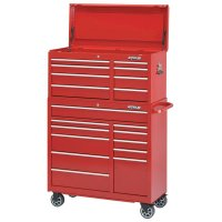 Waterloo Pro Series Chests - Pro Series Chests, 40 1/2 in x 18 in x 20 in, 8,669 cu in, Red - Waterloo - 797-PCH-418RD