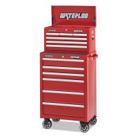 Waterloo Series Chests - Series 6-Drawer Chests, 26 in x 12 in, Red - Waterloo - 797-WCH-266RD