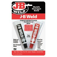 J-B Weld Cold Weld Compounds - Cold Weld Compounds, 2 oz (2 x 1 oz.) Skin Packed, Dark Grey - J-B Weld - 803-8265-S