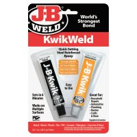 J-B Weld Cold Weld Compounds - Cold Weld Compounds, 2 oz (2 x 1 oz.) Skin Packed - J-B Weld - 803-8276