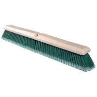 Weiler® Perma-Sweep™ Floor Brushes - Perma-Sweep Floor Brush, 24in Foam Block, 3in Trim L, Flagged Green Polystyrene - 804-42164 - Weiler®
