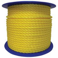 Orion Ropeworks Monofilament Twisted Poly Ropes - Monofilament Twisted Poly Ropes, 600 ft, Polypropylene, - 811-350280-00600-R0314 - Orion Ropeworks