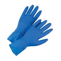 West Chester High Risk Examination Grade Powder Free Latex Gloves - High Risk Examination Grade Powder Free Latex Gloves, Large, Blue - West Chester - 813-2550/L
