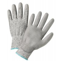 West Chester 720DGU Palm Coated HPPE Gloves - 720DGU Palm Coated HPPE Gloves, Medium, Gray - 813-720DGU/M - West Chester
