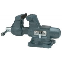 Wilton® Tradesman Vises - Tradesman Vises, 4 1/2 in Jaw, 3 1/4 in Throat, Swivel Base - 825-63199 - JPW Industries