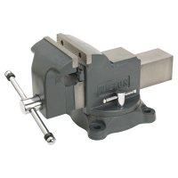 Wilton® Shop Vises - Shop Vises, 6 in Jaw, 3 1/2 in Throat, Swivel Base - 825-63302 - JPW Industries