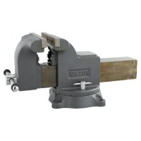 Wilton® Shop Vises - Shop Vises, 8 in Jaw, 4 in Throat, Swivel Base - 825-63304 - JPW Industries