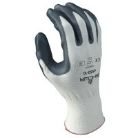 SHOWA® Zorb-IT™ Sponge Nitrile Coated Gloves - Zorb-IT Sponge Nitrile Coated Gloves, Medium, Black - 845-4540-08 - SHOWA®