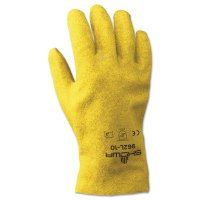SHOWA® 926 Gloves - 926 Gloves, Size 9, PVC Coated, Medium, Yellow - 845-962M-09 - SHOWA®