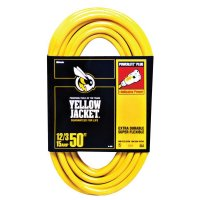 Woods Wire Yellow Jacket® Power Cords - Yellow Jacket Power Cord, 50 ft - 860-2884 - Woods Wire