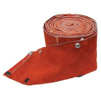 Best Welds Cable Covers with Snaps - Cable Covers with Snaps, 50 ft, MIG, Large, Leather - 900-5048CC - Best Welds