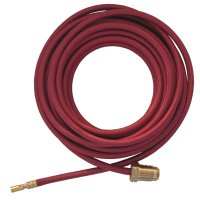 Power Cables, For 20, 24W & 25 Torches, 25 ft, Nylon Braided Rubber Hose - 900-45V04R - Best Welds