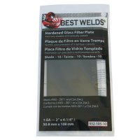 Best Welds Glass Filter Plates - Glass Filter Plate, Shade 11, 2 x 4 1/4 in, Green - 901-932-105-11 - Best Welds