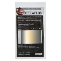 Best Welds Gold Coated Filter Plate - Gold Coated Filter Plate, Gold/11,2 in x 4.25 in, Polycarbonate - 901-932-109-11 - Best Welds