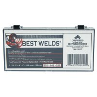 Best Welds Glass Magnifier Plate - Glass Magnifier Plate, 2 in x 4.25 in, 2.25 Diopter, Clear - 901-932-145-225 - Best Welds