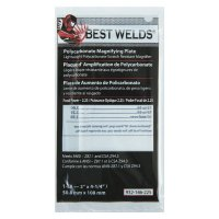 Best Welds Plastic Magnifier Plate - Plastic Magnifier Plate, 2 in x 4.25 in, 2.25 Diopter, Polycarbonate, Clear - 901-932-146-225 - Best Welds