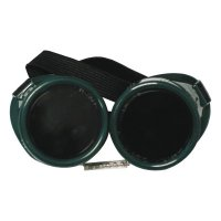 Best Welds Cup Goggles - Cup Goggles, Hard Plastic, Green - 901-WG-50C - Best Welds