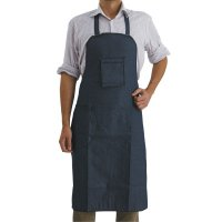 Comfort Clothing and Gloves Denim Shop Apron - Denim Shop Apron, 29 in X 40 in, Cotton Denim, Blue - 902-02940 - Comfort Clothing and Gloves