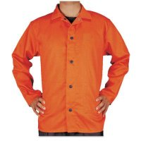 Best Welds Premium Flame Retardant Jackets - Premium Flame Retardant Jacket, 2X-Large, Orange - Best Welds - 902-1230-XXL