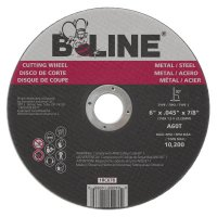 B-Line Abrasives Cutting Wheels - 6 x .045 B-Line Type 1 Cutting Wheel A60T 7/8 A.H. - 903-1RC678 - B-Line
