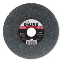 "Bee Line Abrasives Straight Resinoid Wheels - Straight Resinoid Wheel, 8"" Dia, 1"" Thick, 1"" Arbor, Medium Grit - 903-811M - Bee Line"