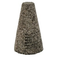 """B-Line Abrasives Cones and Plugs - Cones and Plugs, 1 1/2"""" Dia, 2 1/2"""" Thick, 5/8-11"""" Arbor, 24 Grit, T18 - B-Line - 903-P1815255"""
