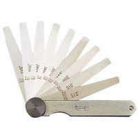 "STARRETT - 172AT - 50650 THICKNESS GAGE 0.0015 0.015"" 9 LEAVES"